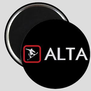 Snowboarding: Alta, Utah Magnet