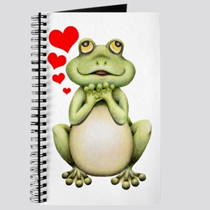 Frog Love Drawing Journal