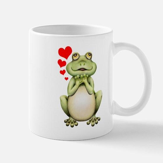 Frog Love Drawing Mug