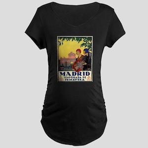 Madrid Temporada de Primavera - Maternity T-Shirt