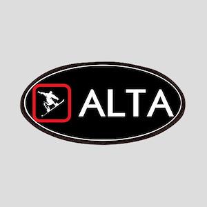 Snowboarding: Alta, Utah Patch