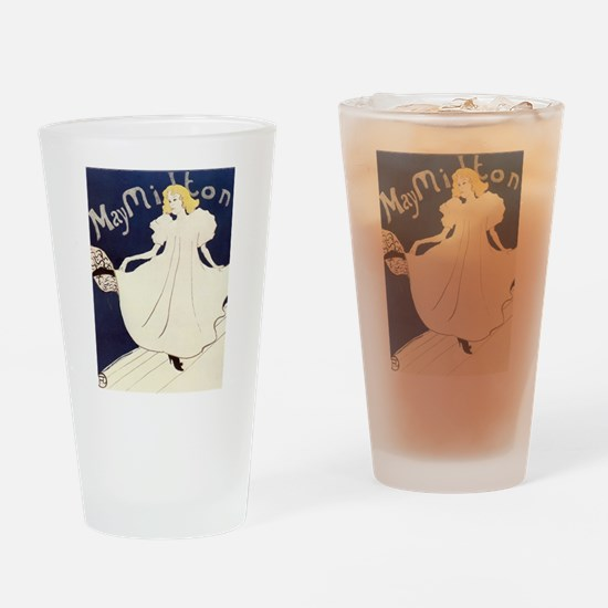 Vintage poster - May Milton Drinking Glass
