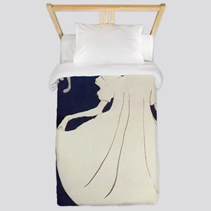 Vintage poster - May Milton Twin Duvet