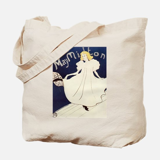 Vintage poster - May Milton Tote Bag