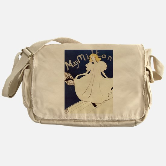 Vintage poster - May Milton Messenger Bag