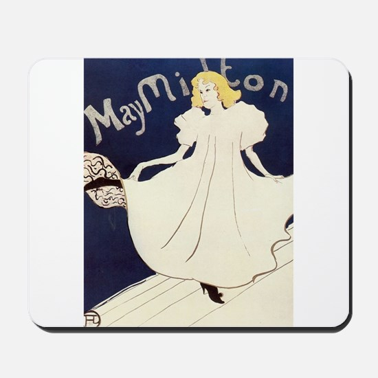 Vintage poster - May Milton Mousepad