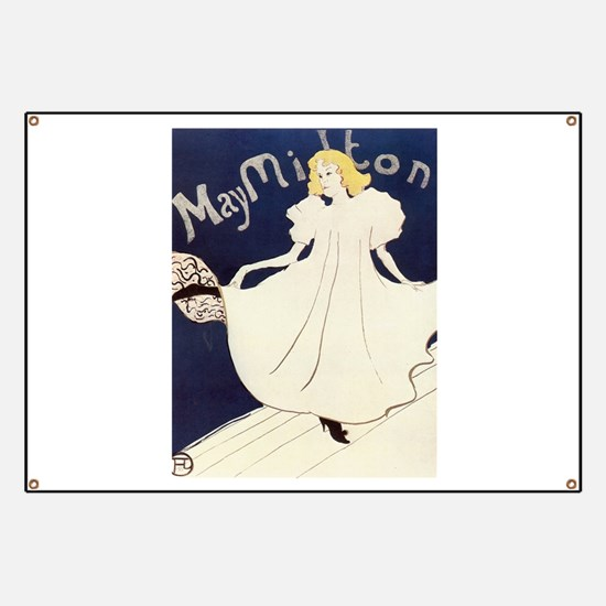 Vintage poster - May Milton Banner