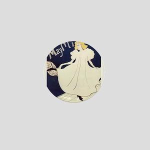 Vintage poster - May Milton Mini Button