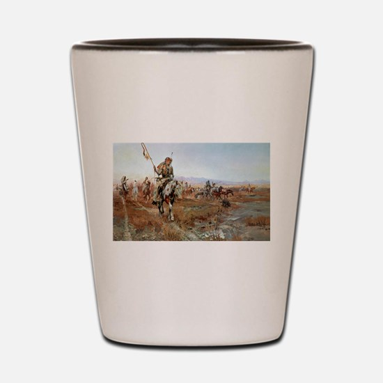 Cool Old west Shot Glass