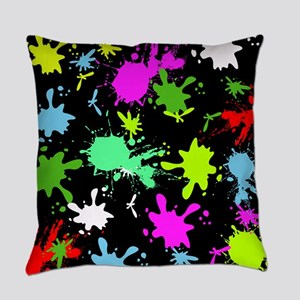Art Splatter Everyday Pillow