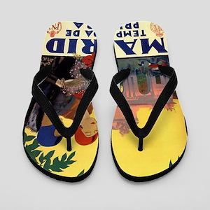 Madrid Temporada de Primavera - Vintage Flip Flops