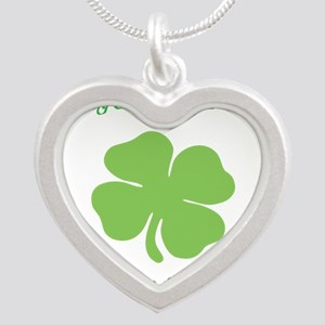 St. Patricks Day personalisable shamrock Necklaces