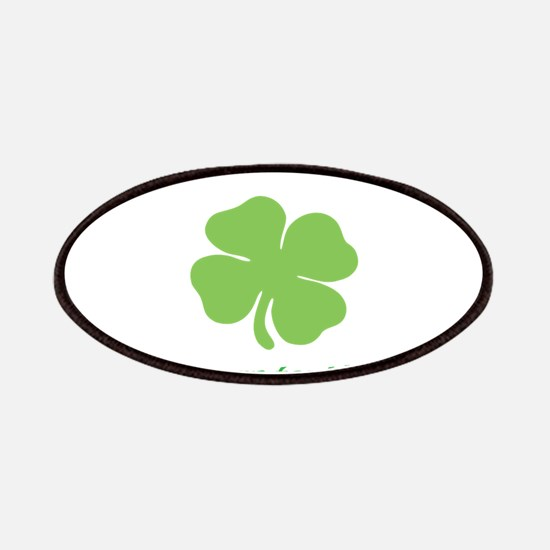 St. Patricks Day personalisable shamrock Patch