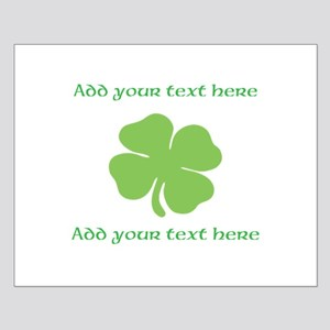 St. Patricks Day personalisable shamrock Posters