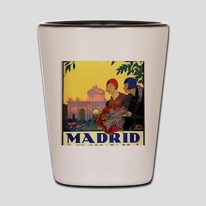 Madrid Temporada de Primavera - Vintage Shot Glass