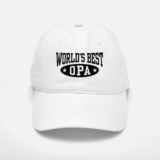 World's Best Opa Baseball Baseball Cap