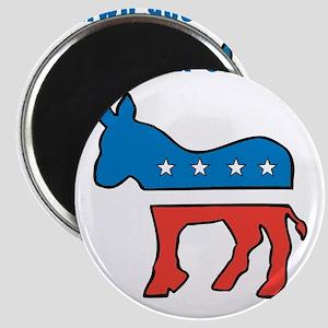 Democrat Donkey Template Magnets