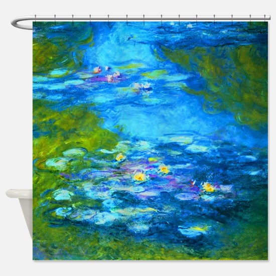 Cute Water lily Shower Curtain
