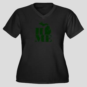 HOME - Michigan Plus Size T-Shirt