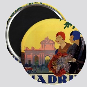 Madrid Temporada de Primavera - Vintage Tr Magnets