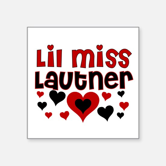 Lil Miss Lautner Sticker