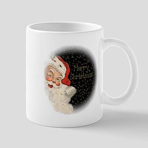 Santa in the stars Mugs