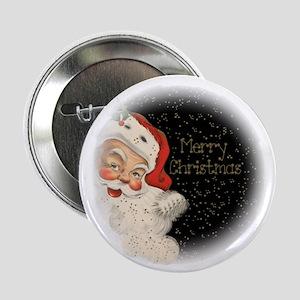 """Santa in the stars 2.25"""" Button"""