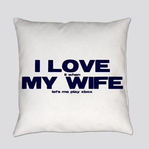 Love my wife Xbox Everyday Pillow