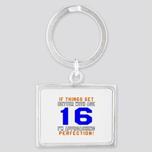 16 I'm Approaching Perfection B Landscape Keychain