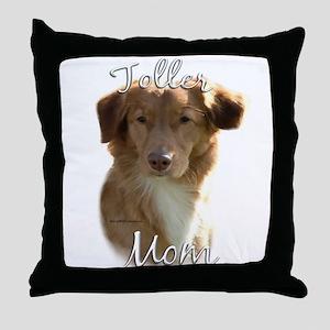 Toller Mom2 Throw Pillow