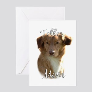 Toller Mom2 Greeting Card