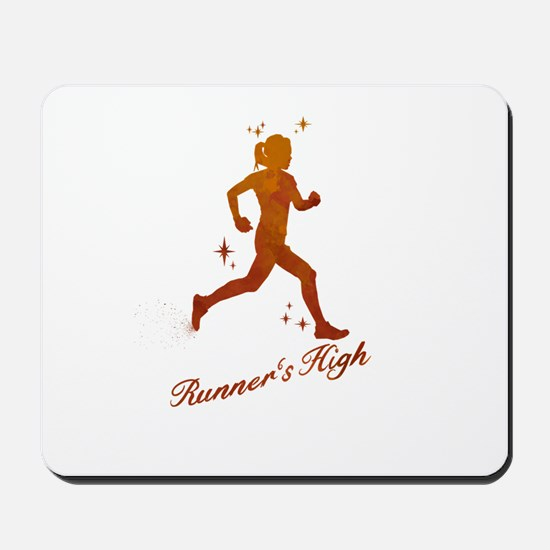 Womens Runner's High Mousepad