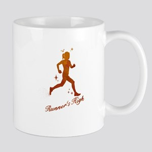 Womens Runner's High Mugs