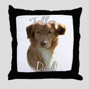 Toller Dad2 Throw Pillow