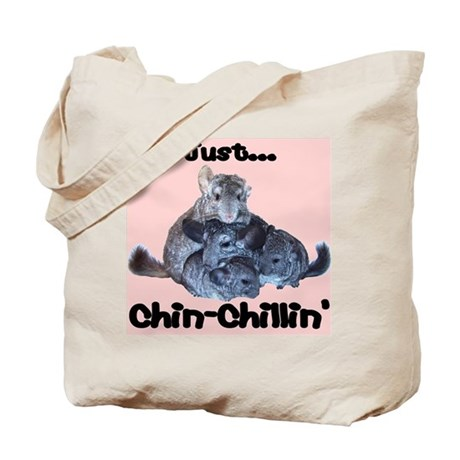 Just Chin-Chillin' Tote Bag