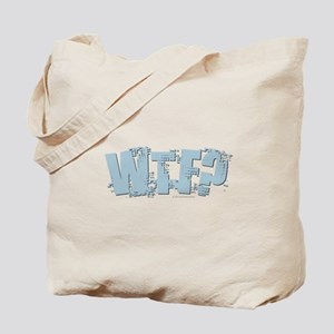 WTF Design Tote Bag