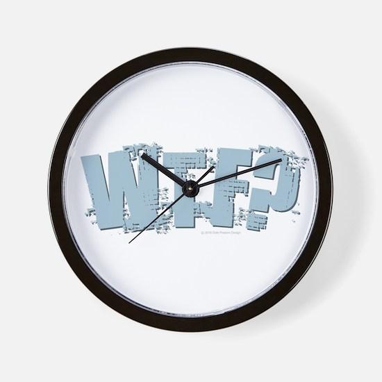 WTF Design Wall Clock