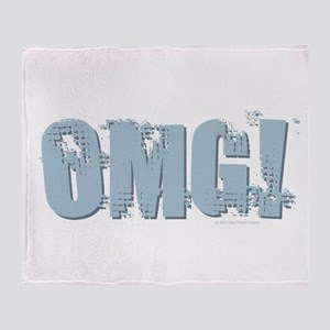 OMG Design Throw Blanket