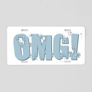 OMG Design Aluminum License Plate