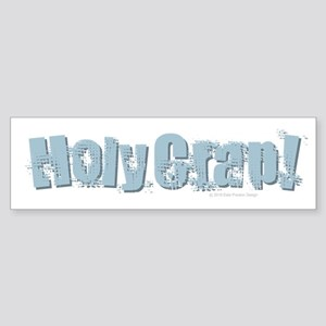 Holy Crap Design Bumper Sticker