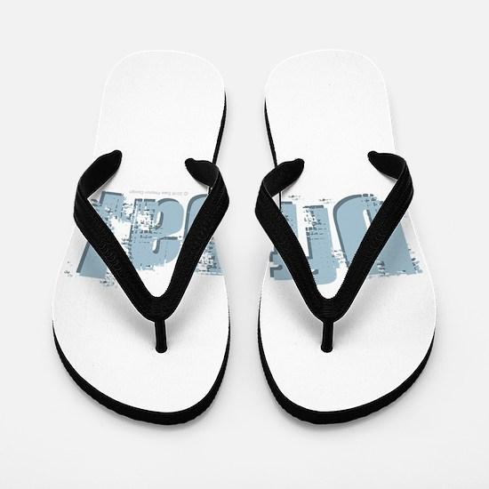 Uff Da Design Flip Flops