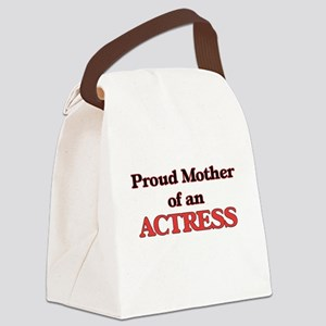 Proud Mother of a Actress Canvas Lunch Bag