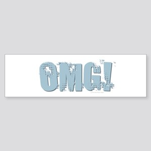 OMG Design Bumper Sticker