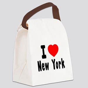 I Love New York Canvas Lunch Bag