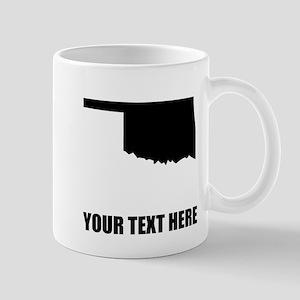 Custom Oklahoma Silhouette Mugs