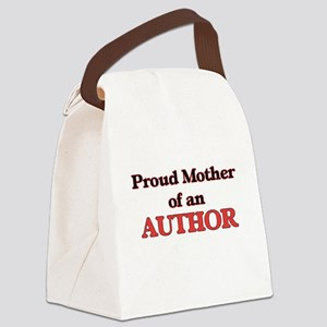 Proud Mother of a Author Canvas Lunch Bag