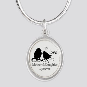 Mother Daughter Love Forever Quote Cute Necklaces