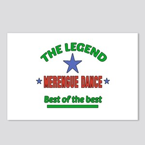 The Legend Merengue dance Postcards (Package of 8)