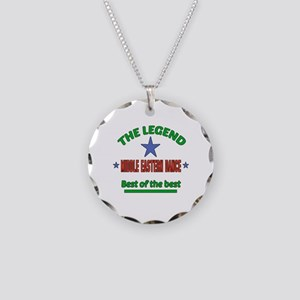 The Legend Middle Eastern da Necklace Circle Charm
