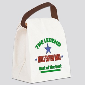 The Legend Middle Eastern dance B Canvas Lunch Bag